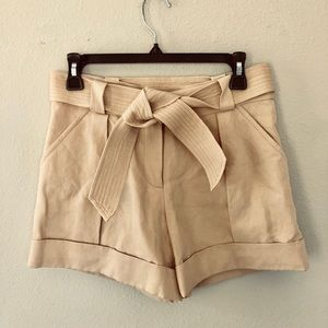 DVF high waisted shorts